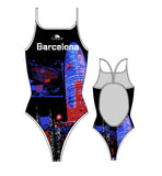 TURBO - 892002-0099 - Thin Strap Womens Swimsuit / Swimwear / Costume - Swimming