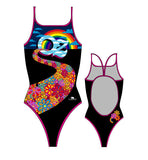 TURBO - 894182 - Thin Strap Womens Swimsuit / Swimwear / Costume - Swimming