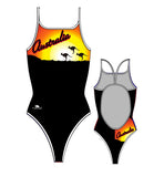 TURBO - 894902 - Thin Strap Womens Swimsuit / Swimwear / Costume - Swimming
