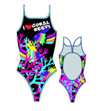 TURBO - 895552-0009 - Thin Strap Womens Swimsuit / Swimwear / Costume - Swimming