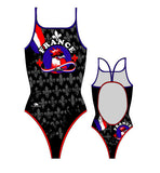 TURBO - 895682-0009 - Thin Strap Womens Swimsuit / Swimwear / Costume - Swimming