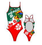 TURBO - 895812-0099 - Thin Strap Womens Swimsuit / Swimwear / Costume - Swimming