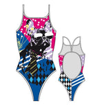 TURBO - 896092-0007 - Thin Strap Womens Swimsuit / Swimwear / Costume - Swimming