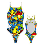 TURBO - 896252-0099 - Thin Strap Womens Swimsuit / Swimwear / Costume - Swimming