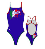 TURBO - 898202-0007 - Thin Strap Womens Swimsuit / Swimwear / Costume - Swimming