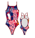 TURBO - 898652-0708 - Thin Strap Womens Swimsuit / Swimwear / Costume - Swimming