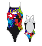 TURBO - 899672-0099 - Thin Strap Womens Swimsuit / Swimwear / Costume - Swimming