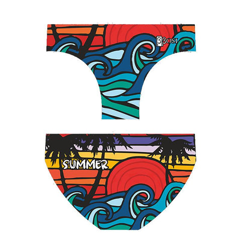 BBOSI Comic Summer - Mens Suit - Water Polo