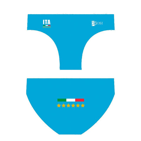 BBOSI Italia Blue - Mens Suit - Water Polo