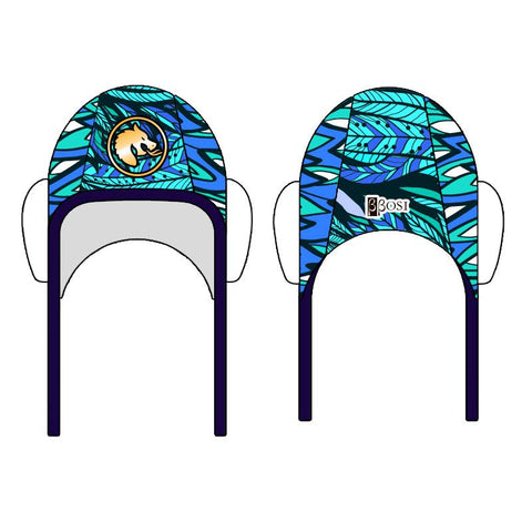 BBOSI Dragon Blue - Water Polo Cap