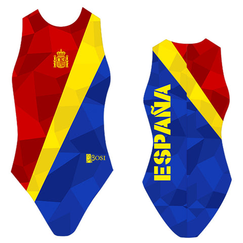 BBOSI Spain / Espana - Womens Water Polo Suits / Costume