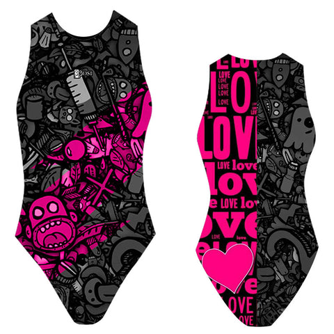 BBOSI Love All - Womens Water Polo Suits / Costume
