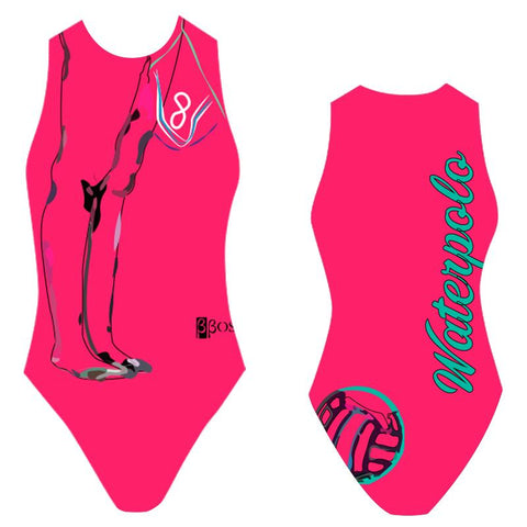 BBOSI Manyu Fucsia - Womens Water Polo Suits / Costume