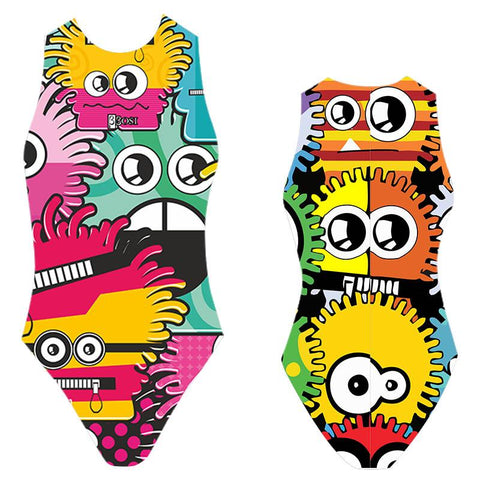 BBOSI Monsters - Womens Water Polo Suits / Costume