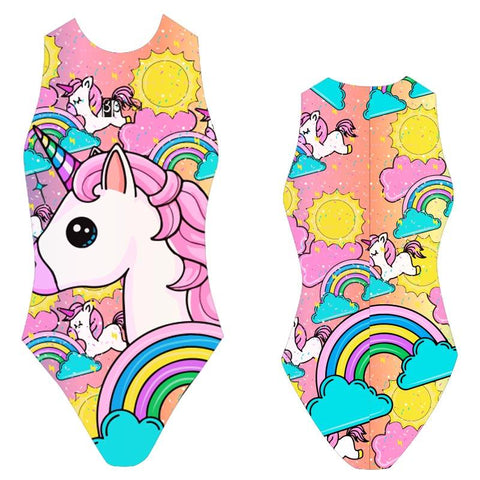 BBOSI Unicorn - Womens Water Polo Suits / Costume