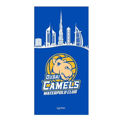 H2OTOGS Customised - Dubai Camels Beach Towel