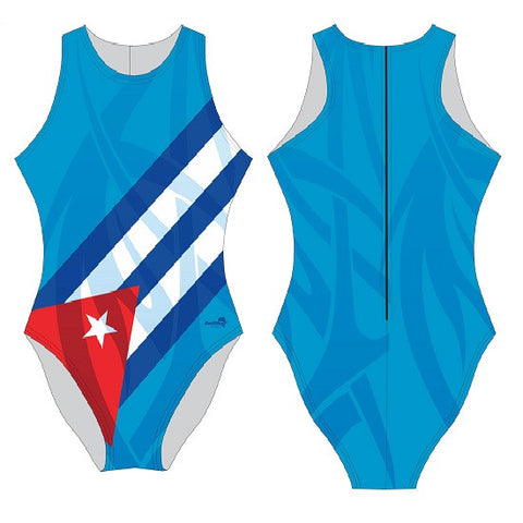 Waterpoloshop - DELFINA Cuba - Womens Water Polo Suits / Costume