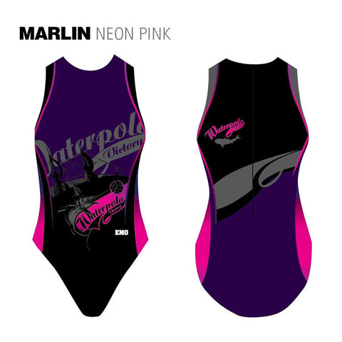 Waterpoloshop - EMO Marlin - Womens Water Polo Suits / Costume