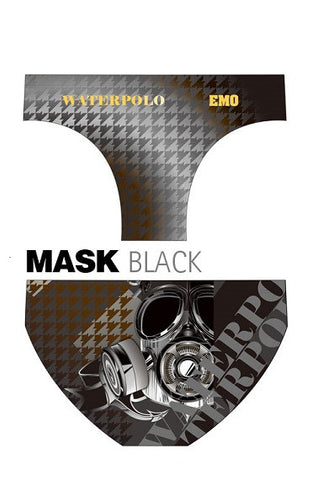 Waterpoloshop - EMO Bocka Mask - Mens Suit - Water Polo - Black
