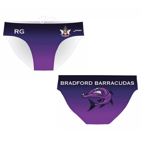 FINIS Customised - Bradford Uni Mens Water Polo Suits + INITIALS