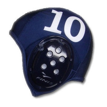Waterpoloshop - FINIS Water Polo Caps - a Set Blue or White X13
