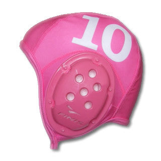 .IN STK - FINIS Water Polo Cap - PINK + NUMBER 1  baa7376b231