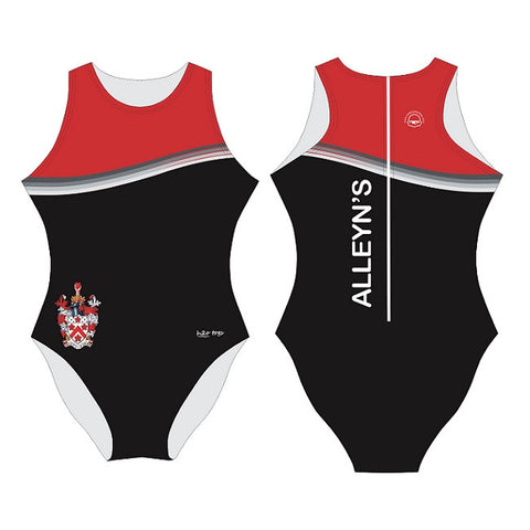 Waterpoloshop - H2OTOGS Customised - Alleyns School Womens Water Polo Suits