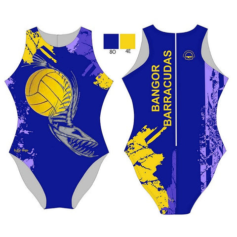 Waterpoloshop - H2OTOGS Customised - Bangor Barracudas Womens Water Polo Suits