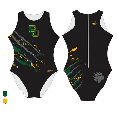 Waterpoloshop - H2OTOGS Customised - Baylor Uni Womens Water Polo Suits