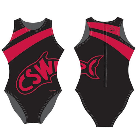 Waterpoloshop - SHOALO Customised - Cheltenham CSWPC Womens Water Polo Suits