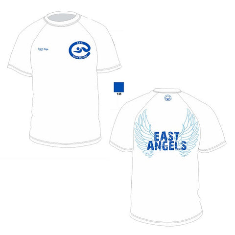 Waterpoloshop - H2OTOGS Customised - East Angels Unisex MESH T-Shirt