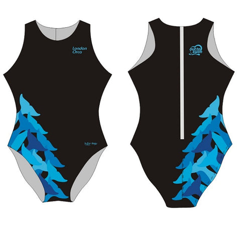Waterpoloshop - H2OTOGS Customised - London Orca Womens Water Polo Suits