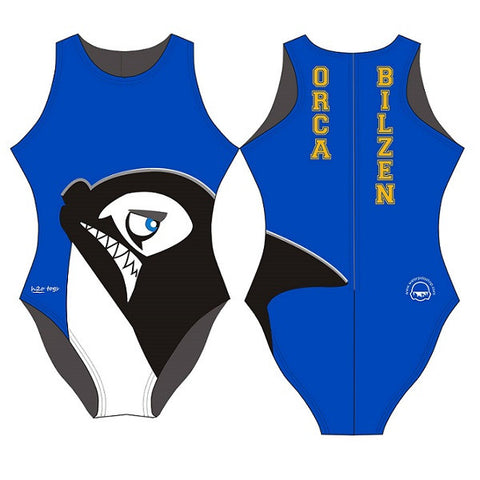 Waterpoloshop - H2OTOGS Customised - Orca Bilzen (ORCA) Womens Water Polo Suits