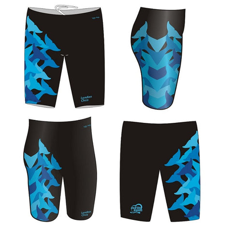 Waterpoloshop - H2OTOGS Customised - London Orca Mens Jammer/Pacer Suit