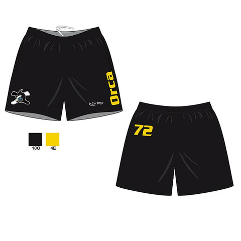 Waterpoloshop - H2OTOGS Customised - Orca Bilzen (ORCA) Unisex - Shorts + NUMBER