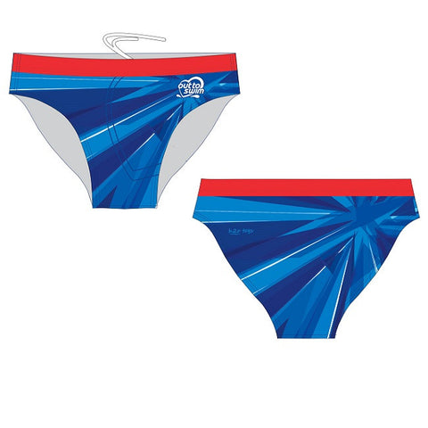 Waterpoloshop - SHOALO Customised - Out to Swim Mens Swim Briefs