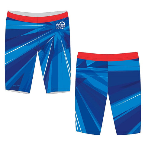 Waterpoloshop - SHOALO Customised - Out to Swim Mens Jammer/Pacer Suit