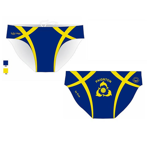 Waterpoloshop - H2OTOGS Customised - Paignton Mens Water Polo Suits