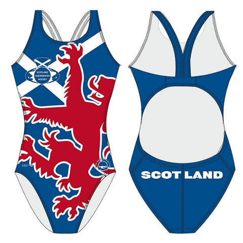 Waterpoloshop - H2OTOGS Customised - Scotland UWH Womens Bladeback Suits