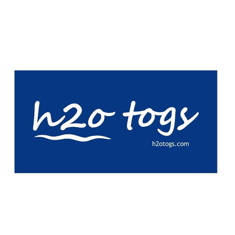 Waterpoloshop - BLF H2OTOGS Logo - Beach Towel