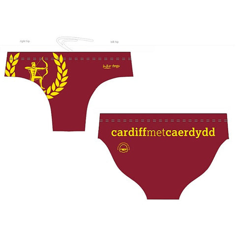 Waterpoloshop - H2OTOGS Customised - Cardiff Met Mens Water Polo Suits