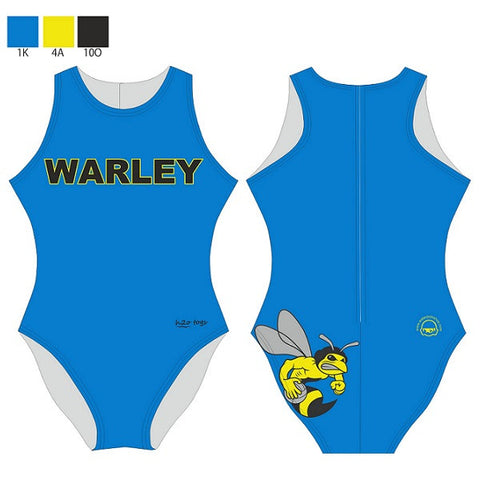Waterpoloshop - H2OTOGS Customised - Warley Wasps Womens Water Polo Suits