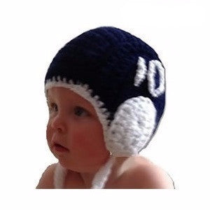 Waterpoloshop - H2OTOGS Customised - Water Polo Crocheted   Knitted Babies  Cap   Hat e20ee6fb1c94