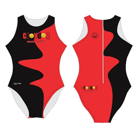 Waterpoloshop - H2OTOGS Customised - Croydon Womens Water Polo Suits