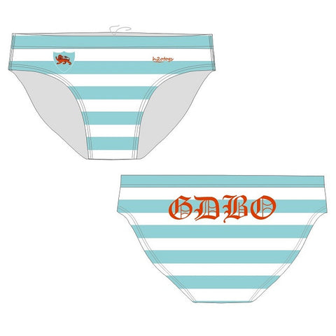 H2OTOGS Customised - Cambridge Uni Rugby Union Football Club Mens Water Polo Suits / Swimwear