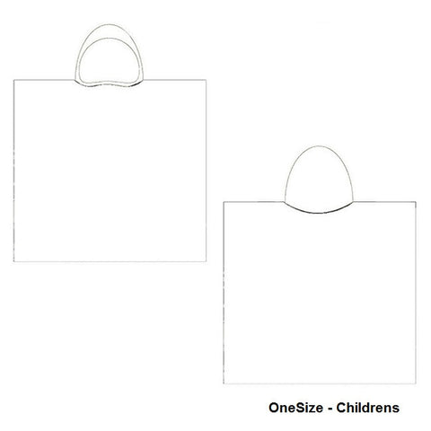 Childrens Template - H2OTOGS Custom Design - Unisex Hooded Towel / Changing Robe