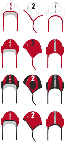 H2OTOGS Customised - Lancaster University Water Polo Caps x 14
