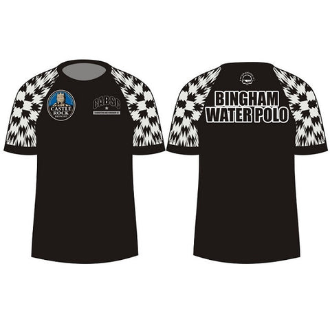Waterpoloshop - H2OTOGS Customised - Bingham Unisex MESH T-Shirt