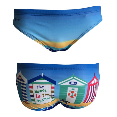 .IN_STK - H2OTOGS Beach Huts - Mens Suit - Water Polo