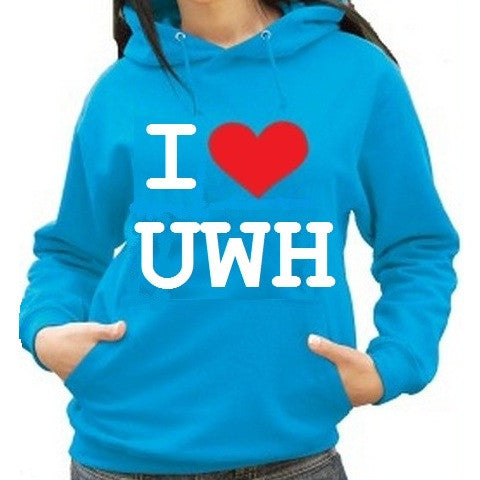 Waterpoloshop - H2OTOGS I Love UWH - Unisex Hoodie - Various Colours